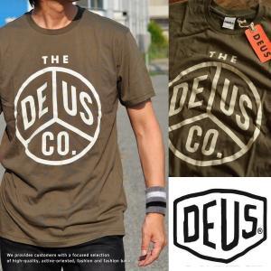 正規品 Deus ex Machina デウス エクス マキナ Tシャツ メンズ ロゴプリント DMS71184F■02170714|hype
