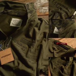 Military ポロシャツ メンズ 鹿の子 MA-1 ポケット付 7403H238 半袖【GAZ】■02170615 hype 06