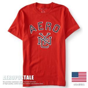 USA購入 エアロポステール Tシャツ アップリケ刺繍 メンズ AEROPOSTALE コットン 6005-9588-629■02170614|hype