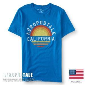 USA購入 エアロポステール Tシャツ プリント メンズ AEROPOSTALE コットン 6001-9883-453■02170614|hype