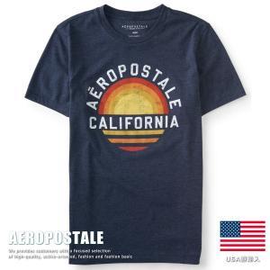 USA購入 エアロポステール Tシャツ プリント メンズ AEROPOSTALE コットン 6001-9883-404■02170614|hype