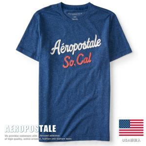 USA購入 エアロポステール Tシャツ アップリケ刺繍 メンズ AEROPOSTALE コットン 6005-9639-415■02170614|hype