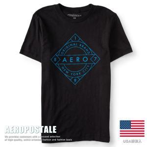 USA購入 エアロポステール Tシャツ ラバープリント メンズ AEROPOSTALE コットン 6001-9881-001■02170613|hype