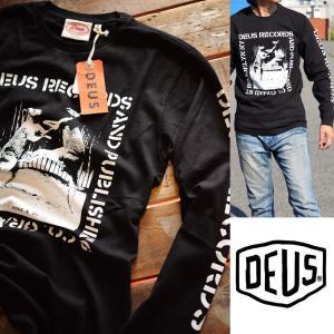 120%正規品 Deus ex Machina(デウス エクス マキナ)ロンT 長袖 Tシャツ メンズ DMP61018D【UNI】■02170427|hype