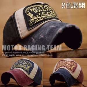 MOTORS RACING TEAM キャップ 帽子 メンズ...