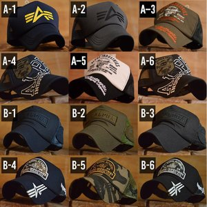 Alpha Industries アルファ・インダストリーズ メッシュキャップ 帽子【y1105s】|hype|02