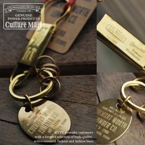 【10%OFF】Culture Mart カルチャーマート 日本製 キーリング キーケース 真鍮 101124