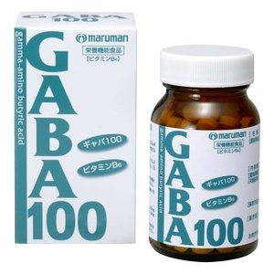 マルマン GABA100(ギャバ100) 75粒 飲む ビタミンB6 錠剤