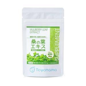 トヨタマ 桑の葉エキス 濃縮桑葉エキス未配合 60粒 ヘルシー 糖質制限 健康|hyperbody