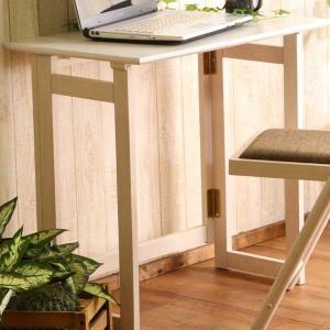 フォールディングテーブル ミラン ホワイト 折畳み式 折りたたみ 折り畳み テーブル 机|hypnos