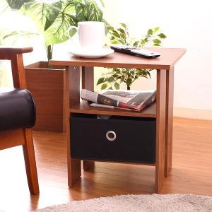 サイドテーブル コーヒーテーブル 収納BOX付 ソファーサイドやベッドサイド サイド テーブル サイドテーブルナイト テーブル 木製 北欧 つくえ hypnos