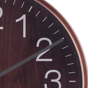 壁掛け時計 プライウッド 掛時計 28cm ブラウン ウォールクロック デザインウォールクロック おしゃれ時計 掛け時計 時計 とけい クロック シンプル|hypnos