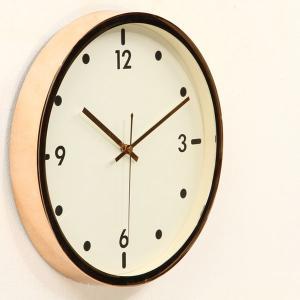 時計 掛時計 おしゃれ ウォールクロック クロック 壁掛け 掛け時計 店舗 シンプル インテリア 新築祝い 結婚祝い ギフト メタル風クロック ピンクゴールド|hypnos