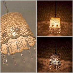 シーリングランプ フレンチレース Chandelier French Lace Ceiling Lamp レース|hypnos