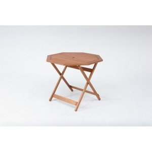 ガーデンテーブル 八角テーブル ガーデニング レジャーテーブル テーブル ウッド 木製 八角形 折り畳み 折りたたみ|hypnos