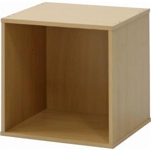 キューブボックス シンプルなオープン収納 箱型 カラーボックス ナチュラル|hypnos