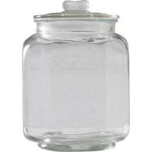 ガラスキャニスター/ガラス製保存容器/保存容器/ペットフード入れ/マロン/L|hypnos