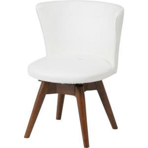 ダイニングチェア/ホワイト/椅子/木製/北欧/回転|hypnos