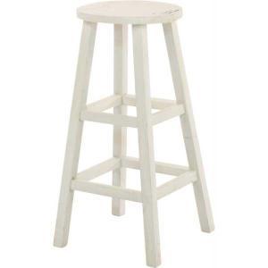フラワーラック フラワースタンド 花台 木製 高め ホワイト 白 シャビー hypnos
