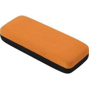 メガネケース PVC オレンジ 眼鏡ケース|hypnos