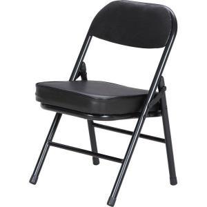 折りたたみチェアー/パイプチェア/椅子/背付ミニチェアー hypnos