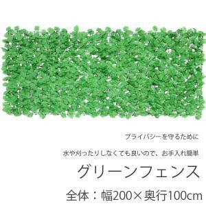 グリーンフェンス 1mX2m ライトグリーン 目隠し プライバシーを守るために|hypnos