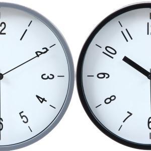 時計 おしゃれ デザインウォールクロック アンティーク デザイナーズクロック 壁掛け 掛け時計 カフェ 店舗 22cm|hypnos
