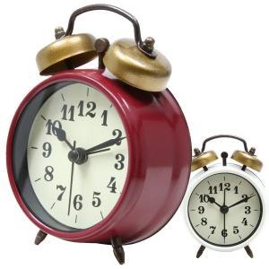置き時計 置時計 時計 クロック シンプル インテリア リビング おしゃれ かわいい 店舗 新築祝い 結婚祝い ギフト アラーム機能 ベルアラーム 目覚まし時計|hypnos