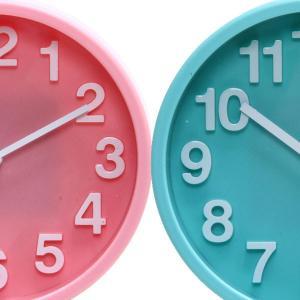 置き時計 置時計 時計 クロック シンプル インテリア リビング おしゃれ かわいい 店舗 新築祝い 結婚祝い ギフト アラーム機能 ピンク ブルー 目覚まし時計|hypnos