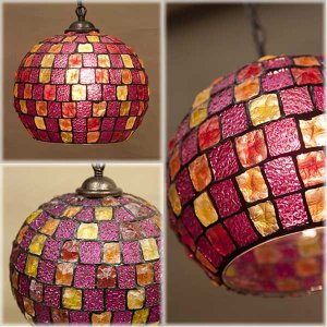 グラスランプ バルーン ピンク アンティーク調 照明 おしゃれ ランプ Atelier Glass Lamp ヨーロピアンテースト アトリエグラス ランプ バルーンPINK MULTI|hypnos