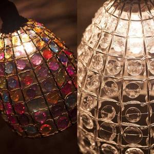 シャンデリア シーリングランプ ヨーロッパ風 ビーズシャンデリア 北欧 シャンデリア照明 シーリング照明 アンティーク|hypnos