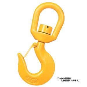 スイベルフック (ベアリング入) YHB500 使用荷重500kg 破断荷重2.5t スリーエッチ ...