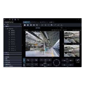 【Panasonic】パナソニック 映像監視ソフトウエア(ライブ画表示専用) WV-ASM30|i-1factory