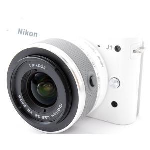 ★大人気ミラーレス★ホワイトカラー ニコン Nikon 1 J1  ★写真を上手く撮る方法のマニュア...