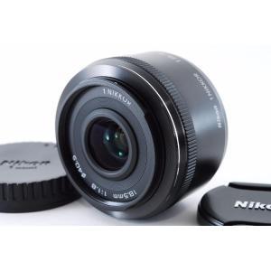 交換レンズ 中古 Nikon ニコン 1 NIKKOR 18.5mm f/1.8 ブラック
