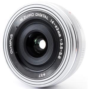 標準レンズ 中古 OLYMPUS オリンパス M.ZUIKO DIGITAL ED 14-42mm ...