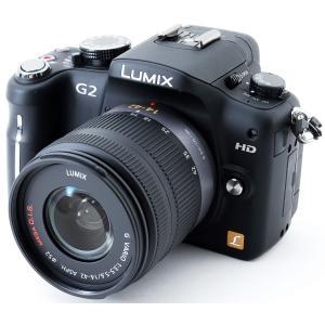 ミラーレス 中古 スマホに送れる Panasonic パナソニック LUMIX DMC-G2K レン...