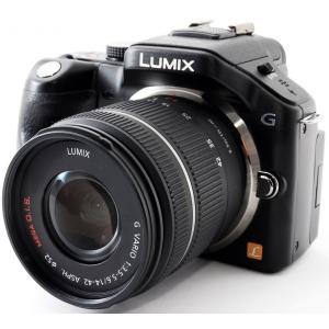 ミラーレス 中古 スマホに送れる Panasonic パナソニック LUMIX DMC-G5 ブラッ...