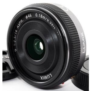 単焦点レンズ 中古 Panasonic パナソニック LUMIX G 14mm/F2.5 ASPH....
