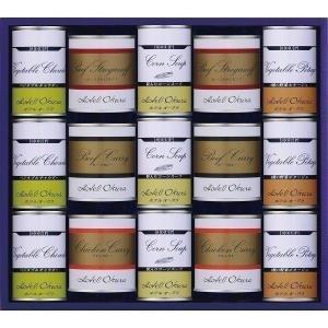 ホテルオークラ スープ缶詰&調理缶詰 詰合せ HO−100D 20-0462-121b4-80 御祝 内祝 ギフト プレゼント 挨拶 i-chie