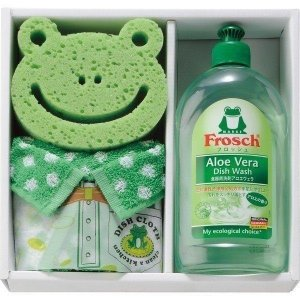 フロッシュ キッチン洗剤ギフト FRS−515GR グリーン 19-0060-086b5-60|i-chie