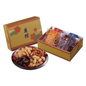 おかき・かりんとう詰合せ「菓撰」 ES-AO T2009-075b5 手土産 和菓子 お菓子 セット 詰合せ ギフト プレゼント i-chie