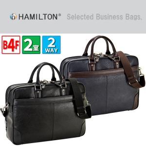 ハミルトン HAMILTON ビジネスバッグ 男性用 メンズ 2way ショルダー付き 26626|i-chie