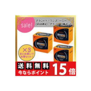 H.G.H/GRAMINO/エイチ・ジー・エイチ/グラミノ(13g×20袋)2箱入り×3