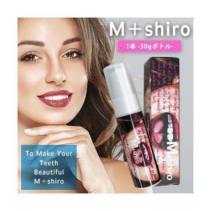 M+shiro ましろ Buggy design 1 ボトルタイプ 30g ホワイトニング 歯磨きジェル Ultimate Mint 限定デザイン デンタルケア 酸化タングステン|i-chie