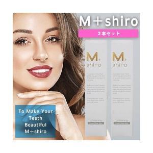 M+shiro ましろ ボトルタイプ 30g 2本 セット ホワイトニング 歯磨きジェル Fresh Clear Mint デンタルケア 酸化タングステン|i-chie