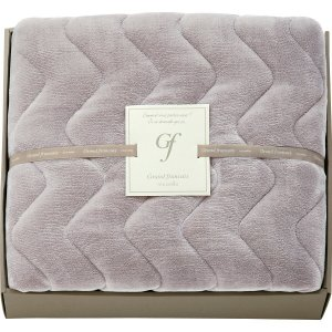 グランフランセヌーベル 吸湿発熱綿入りハイソフトタッチ敷パット バイオレットグレー GFN8057 半額 割引 セール 引っ越し|i-chie