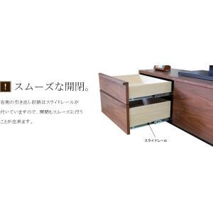 テレビ台 テレビボード ローボード 120 140 160 180 200 おしゃれ 北欧 日本製 収納 完成品 パス W NEW|i-company|12