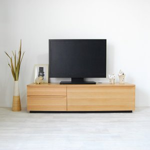 テレビ台 テレビボード ローボード 120 140 160 180 200 おしゃれ 北欧 日本製 収納 完成品 パス W NEW|i-company|04