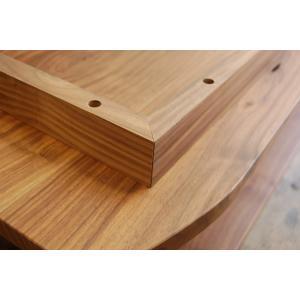 テレビ台 テレビボード ローボード 完成品 北欧 無垢 ウォールナット 木製 120  国産 日本製 Mini120|i-company|04